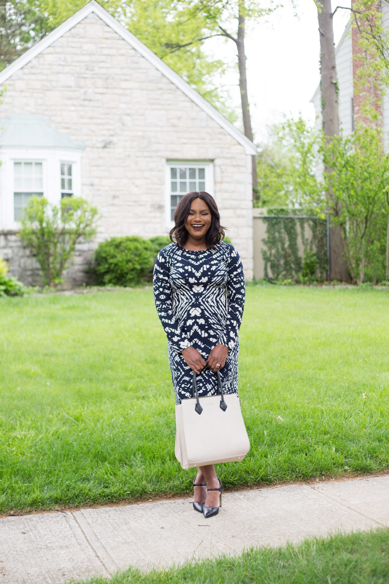 Maggy London Work Appropriate Dresses by popular Ohio style blogger XO Beverly