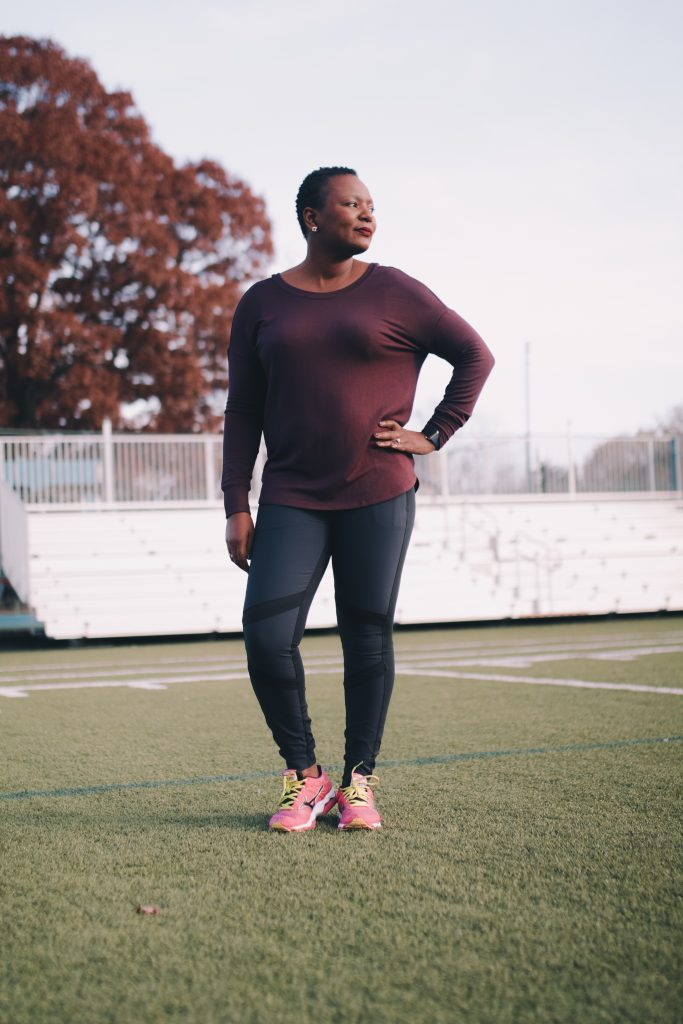 Winter Workout With Athleta by popular Ohio blogger XO Beverly